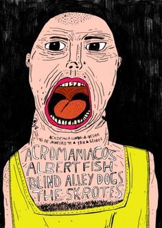 The Punk Queen of England with Laser Beam Eyes, Graphic Illustration, by Wasted Rita. - Google Search