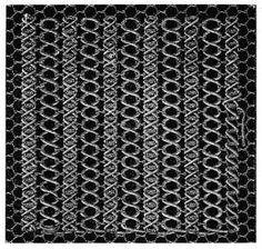 Net and damask stitches - Chapter IV - Encyclopedia of Needlework, Net embroidery, net patterns, net darning, damask stitches Embroidery Stitches Tutorial, Lace Embroidery, Bobbin Lace Patterns, Point Lace, Lace Doilies, Needle Lace, Lace Making, Antique Lace, Crochet Lace