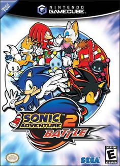 Sonic Adventure 2: Battle  I played this all the time as a child. I still love it to this day!
