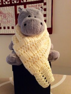 """The """"simplicity stitch"""" from Annie's 100 Quick and Easy Crochet stitches."""