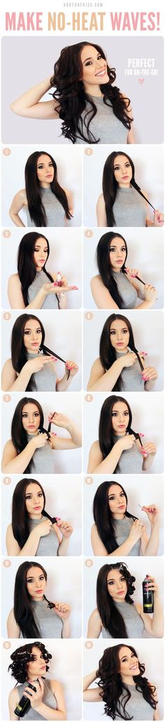 Dont think this would ever work on my hair but cool trick