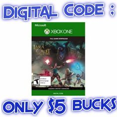 Lara Croft & the Temple of Osiris XBOX ONE Digital Code - http://couponsdowork.com/amazon-deals/laura-croft-amazon-code-deal/