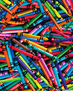 Back To Cool School - Crayon Rainbow Happy Colors, True Colors, Vibrant Colors, World Of Color, Color Of Life, Coat Of Many Colors, Rainbow Aesthetic, Patchwork Fabric, Too Cool For School