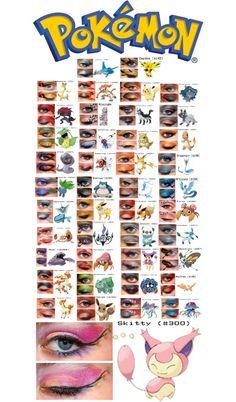 """""""Pokemon -Inspired Eye Art"""" by kittenscupcakes17 on Polyvore"""