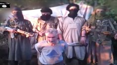 Screenshot from a YouTube video released by Jund al-Khilafah