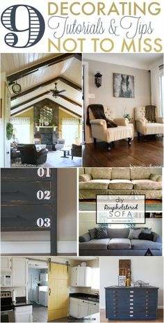 9 Decorating Tutorials & Tips Not to Miss