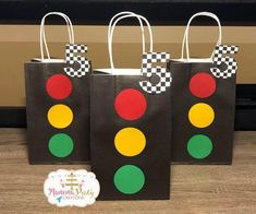Items similar to Bow Tie Favor Bags on Etsy 2 Birthday, 2nd Birthday Party For Boys, Hot Wheels Birthday, Race Car Birthday, Race Car Party, Cars Birthday Parties, Birthday Party Decorations, Birthday Favors, Birthday Ideas