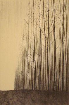 Shigeki Tomura. Born in 1951. Japanese Print maker.