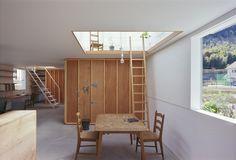 Tato Architects — House in Yamasaki Hyogo, Contemporary Architecture, Interior Architecture, Japanese Interior Design, Piece A Vivre, Sapporo, Architect House, Architect Logo, Interior Exterior
