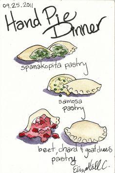 Hand Pie Dinner