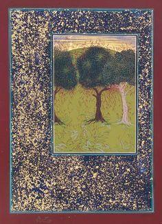 Imran Qureshi Artwork | Imran Qureshi, Threatened, 2010. Courtesy the artist and Corvi-Mora ...