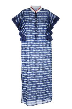 Resort 2017 Trend: Tie-Dye | Tory Burch's tie-dye dress [Photo: Thomas Iannaccone]