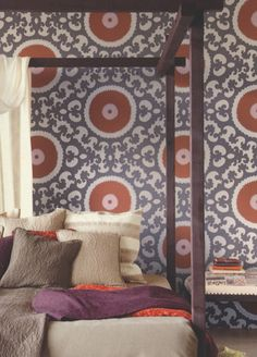 Suzani Wallpaper from Eijffinger - 314005