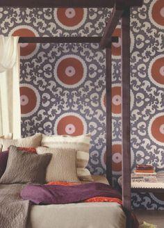 Suzani Wallpaper from Eijffinger - 314005