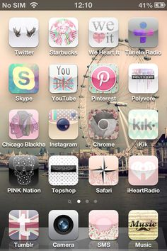 Cocoppa app! Lets you customize your phone icons to super cute ones. Ahhh just spent an hour on this.