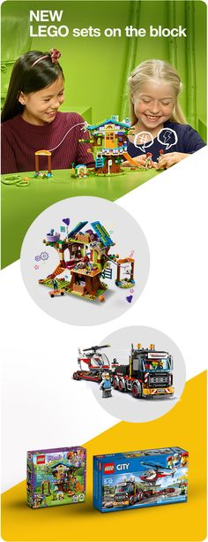 Let your little ones build brand-new adventures every day with the newest LEGO sets on the block. Whether they're mini makers or master builders there's sure to be something they'll love.