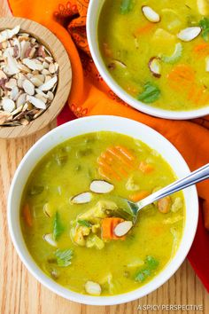 Silky creamy, yet Healthy Mulligatawny Soup Recipe! This classic english-indian soup is rich and vibrant, with a luxurious broth.