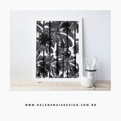"""Poster """"Cocada"""" tamanho A3. Encontre esse produto no link do perfil! #decor #posters #design #decoracao #prints #estampas #black&white #designdeinteriores #minimalism #tropical #helenamaiadesign #graphicdesign #estampas #estamparia #designgrafico #minimal"""