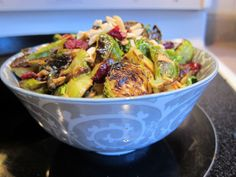 Charred Brussel Sprout Salad