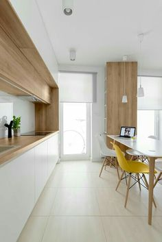 Soft wood kitchen dream house