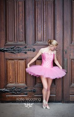 Ballerina Jena.  Photographed on location in Over-The-Rhine by Katie Woodring Photography LLC.