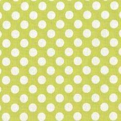 Manufacturer: Michael Miller (CX1492_Lime)  Designer: Michael Miller House Designer  Collection: Ta Dot  Print Name: Ta Dot in Lime