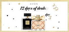 Purchase $45 through my Avon eStore and get either Avon Luck La Vie or Little Black Dress for free! CODE: LBD or LUCK #AvonRep #12DaysofDeals