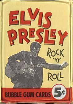 Elvis Presley Bubble Gum Cards