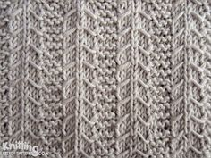 Gulls and Garter stitch pattern