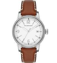 Burberry White Dial Tan Leather Ladies Watch 7823 ** Want to know more, click on the image.