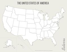 Free Printable Maps Blank Map Of The United States Educational