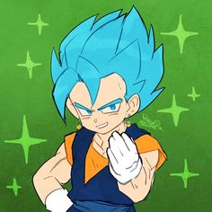 Gogeta And Vegito, Dbz, Anime, Fictional Characters, Blue, Dragonball Z, Anime Music, Fantasy Characters, Anima And Animus