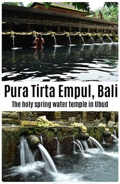 Complete guide to the holy spring water temple – Pura Tirta Empul, Bali. Temple Bali, Stuff To Do, Things To Do, Water Temple, Spring Water, Ubud, Travel List, Vacation Ideas, Holi