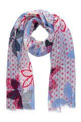 Taifun - sjaal met gebloemd dessin