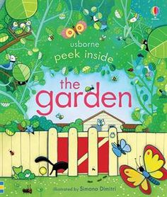 A sunny garden hums, buzzes, creeps and crawls with life… Peek inside this one to see what you can find.