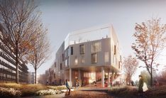 Gallery of C.F. Møller Wins Competition for Active-Learning School in Copenhagen - 1