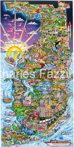 fazzino-cityscape-pop-art-florida-along-the-sunshine-state.jpg (401×800)