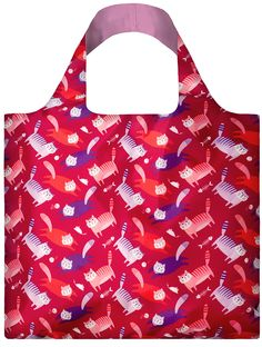 LOQI Tote Artists - Cats #shopper #reusable #grocery bag - #boodschappentas #abodeeloqibags