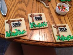 House warming cookies- Courtney's Confections