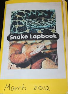 snake lapbook ... (check this out for J. @Mandy Bryant Dictson Blount)