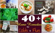 Everything you need to make it through the cold | flu season! 40 of the BEST ho