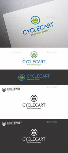Cycle Cart Logo ---------------------------------------------- bargain, basket, blue, business, cart, commerce, cycle, dealing, e-shop, eshop, fast, firm, green, illustrator, logo, logo icon, logotype, market, outlet, share, shop, shopping, stock, store, trade, vector, website element