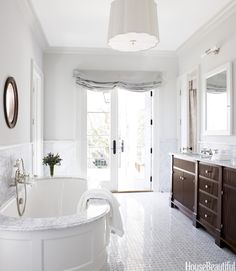 63 Bathroom Design Ideas - Decor Pictures of Bathrooms - House Beautiful