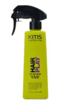 KMS California Hair Play - Sea Salt Spray, great product for the wavy beach look. Love it!