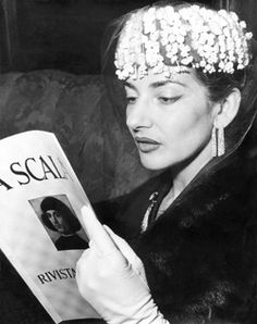 Maria Callas - Talent and style are more than beauty