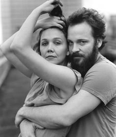 Maggie Gyllenhaal and Peter Sarsgaard. Its a smolder party for two!