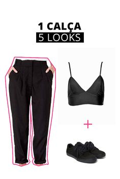 Viemos te ajudar a usar essa calça de maneiras muito mais descoladas e longe do boring que um office look muitas vezes exige! Shop Now