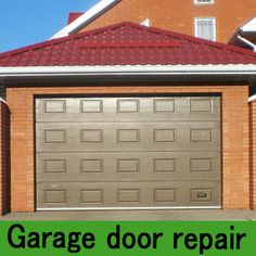 Milk paint garage and garage doors on pinterest for 15 x 8 garage door