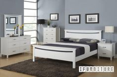 PAMELA Bedroom Combo , Bedroom, NZ's Largest Furniture Range with Guaranteed Lowest Prices: Bedroom Furniture, Sofa, Couch, Lounge suite, Di...