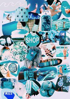 VSCO Girl lifestyle in blue - Wallpaper - Iphone Wallpaper Vsco, Mood Wallpaper, Summer Wallpaper, Homescreen Wallpaper, Iphone Background Wallpaper, Aesthetic Pastel Wallpaper, Aesthetic Wallpapers, Cute Wallpaper Backgrounds, Blue Wallpapers